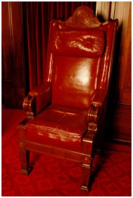 President's Chair - Image from the Old Parliament House Collection
