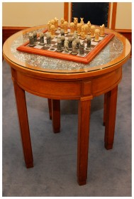 Circular Bar Table - Image from the Old Parliament House Collection