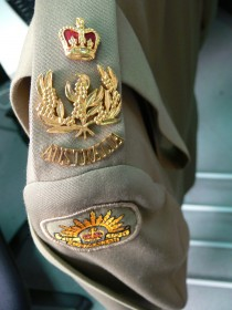Australian army uniform belonging to former Governor-General Major General Michael Jeffery Detail 2