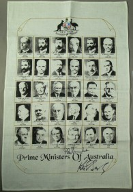 Prime Ministers tea towel