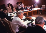 Bob Hawke in the Cabinet Room