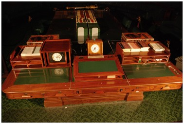 Chamber Table (above) - Image from the Old Parliament House Collection