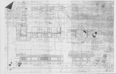 Chamber Table (plans) - Old Parliament House Collection