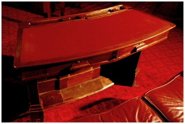Senate Chamber Desk - Image from the Old Parliament House Collection