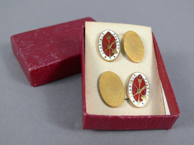 Labour Party Cufflinks that belonged to Arthur Calwell