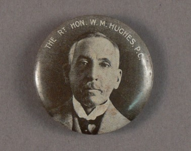Billy Hughes Election Badge
