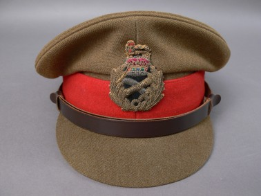 Australian army uniform belonging to former Governor-General Major General Michael Jeffery Hat