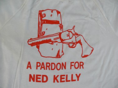 T-shirt – A Pardon for Ned Kelly