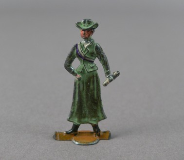 Pank-a-Squith Suffragette Token (green)