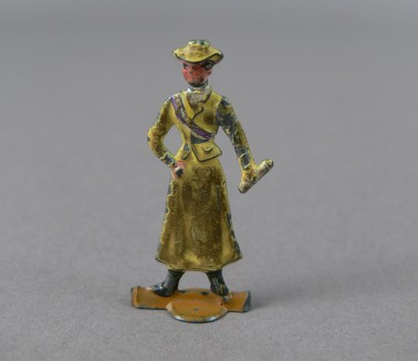 Pank-a-Squith Suffragette Token (yellow)